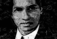 Srinivas Ramanujan, the famous mathematician from India