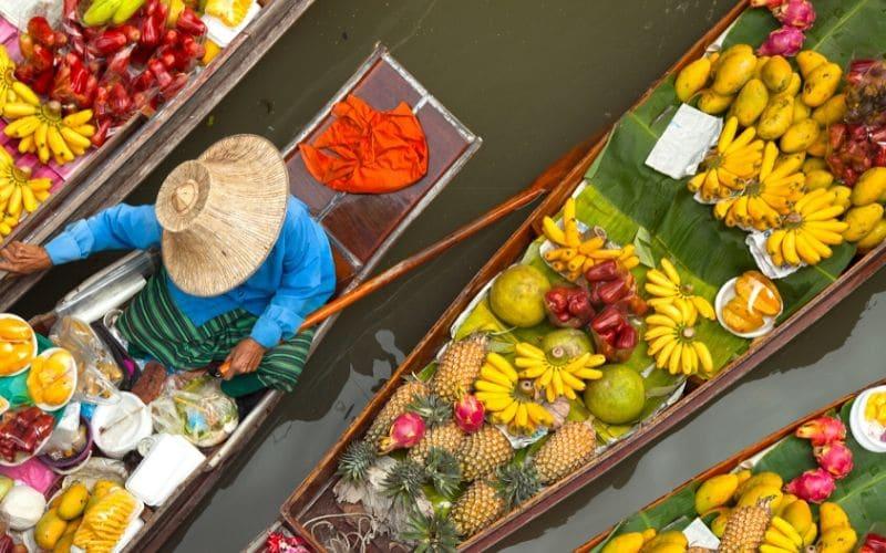 thailand tourism boat