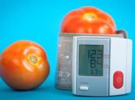 blood pressure measurement tomato